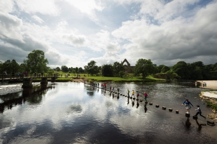 Bolton Priory and the River Wharfe