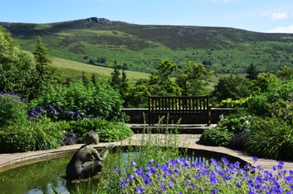 Parcevall Hall and Gardens - just a mile from Hill Top Cottage