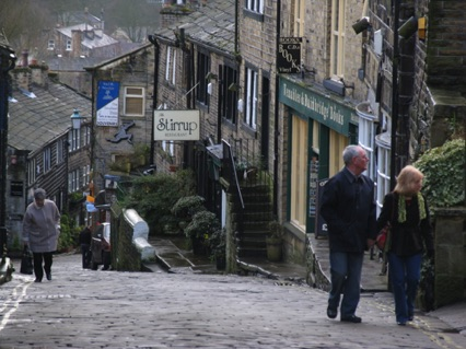 Bronte Country - Haworth High Street